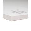 Bloc avec dos solide en carton gris