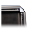 Changement facile de motif - le profil du cadre pliable, large de 32 mm peut être déplié très facilement.