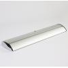 Cassette robuste en aluminium avec aspect chrome, modèle lourd - ainsi, pas de pieds rabattables nécessaires (illustr. similaire)