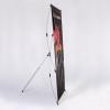 Un system télescopique permet une manipulation facile. Le système complet comprend une sacoche de transport.