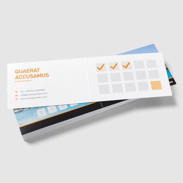 Cartes Pliables Format Paysage 85 X 55 Cm
