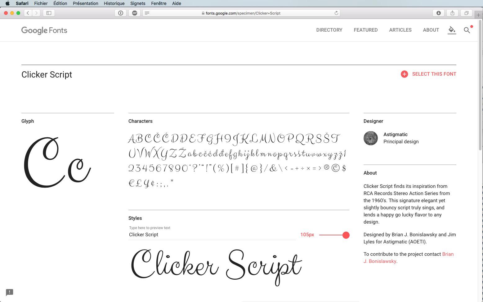 Script-Font Clicker Script